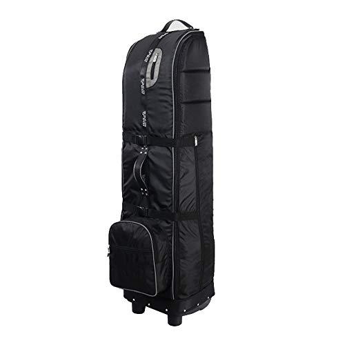 Jianghuayunchuanri Golf-Reisehülle auf Rädern Golf Reisetasche tragen kann Golf-Bag auf dem Flugzeug und zu schützen Ausrüstung Golftaschen tragen (Farbe : Grau, Size : 145X30cm)