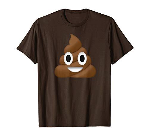 Poop Emoji Costume Funny Halloween T-Shirt T-Shirt