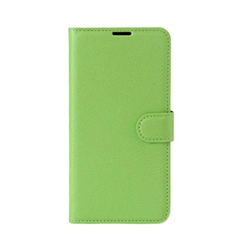 Phone case Lmy for Leagoo M8 Pro Litchi Texture Horizontal Flip Leather Case with Holder & Card Slots & Wallet (Black) (Color : Green)