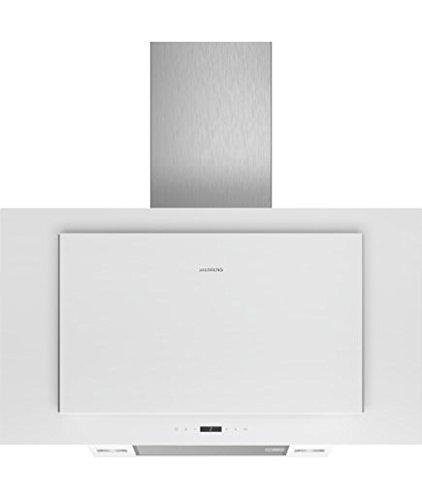 Siemens LC97FLP20 iQ500 Dunstabzugshaube / Kaminhaube / 89 cm / LED-Beleuchtung / Intensivstufe / Extrem Leise
