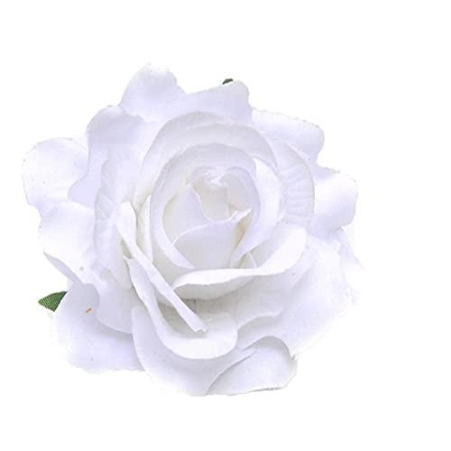 NiceJoy Clip Joyería Horquilla De La Flor De Boda Dulce Broche De Rose del Pelo del Partido Blanco Accesorios Salud Y Maquillaje Herramienta