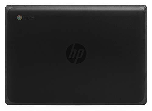 mCover - Carcasa rígida para portátiles HP Chromebook 11 G8 EE / G9 EE de 11,6 pulgadas (negro)