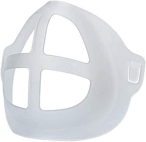 5 Stück 3D-Silikon-Halterung für Masken, Stützrahmen, Silikon-Maskenhalterung, Innenkissen für Masken, Nasenpolster für Mund und Nase