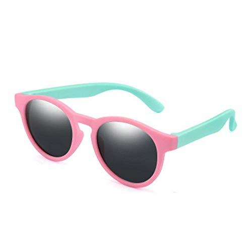 DIF kinderen gepolariseerde zonnebril jongens meisjes zonnebril siliconen veiligheidsbril