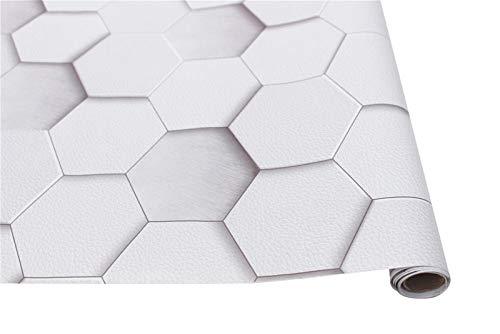 Impermeable fácil aplicación fondo de pantalla ext Patrón de despegar y pegar papel tapiz geométrico gris vinilo auto-adhesivo de pared de papel diseño for las paredes de baño Dormitorio Decoración