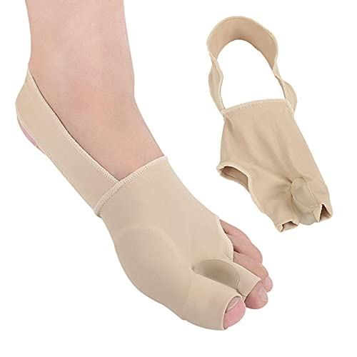 Pillowcase 123 Correctores, Separador de Dedos gordos para Dedos superpuestos, para Hombres y Mujeres Alivio del Dolor de Hallux