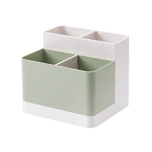 Lunmore, organizer da scrivania per matite, carte di credito, per scrivania, forniture per ufficio, tavolo da toeletta. Verde chiaro