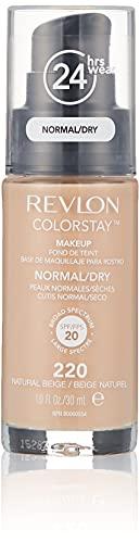 Revlon Colorstay - Fondotinta per pelli normali/grasse, 30ml, marrone chiaro