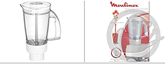 Moulinex – Cuenco licuadora completo blanco – ms-5 a16452: Amazon ...