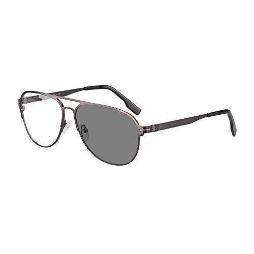 EnzoDate Overgang Fotochrome Bifocale Leesbril Optische Verziendheid Metalen Frame UV400 Zonnebril