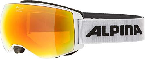 ALPINA Ski- und Snowboardbrille Naator Weiss (100) 0