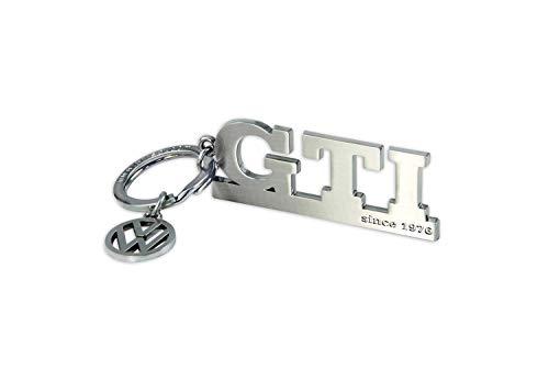 BRISA VW Collection VW GTI Schlüsselanhänger mit Charm - silber