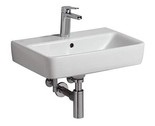 Keramag Waschtisch Renova Nr. 1 Comprimo 550x370mm KeraTect weiß(alpin)