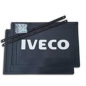 Trupa 2 x Schmutzfänger 450x300mm / Spritzlappen/Spritzschutz -LKW Anhänger IVECO