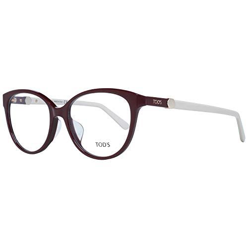 Tods Brille Damen Rot Lese-Brillen Brillen-Gestell Brillen-Fassungen