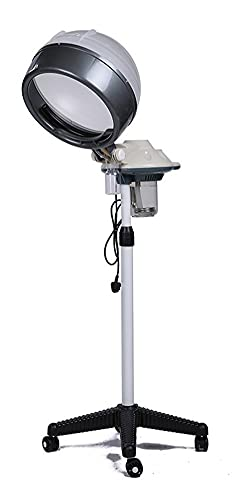 XWZ Vaporizador para El Cabello, Vaporizador Facial Y Vaporizador para El Cabello, Máquina para Teñir El Cabello De Salón Perming Machine Calentamiento Rápido del Cuero Cabelludo