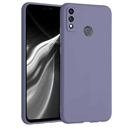 kwmobile Hülle kompatibel mit Honor 9X Lite - Hülle Silikon - Soft Handyhülle - Handy Hülle in Lavendelgrau matt