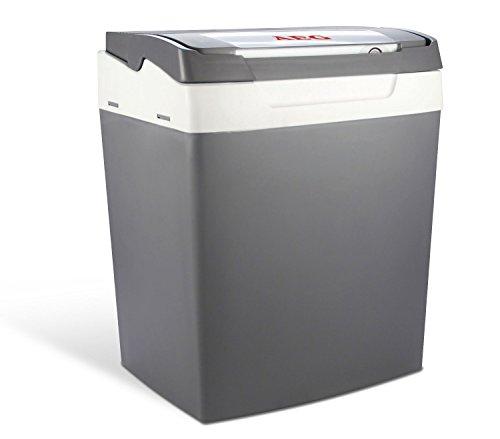 AEG Automotive 97252 Kühlbox KK29, Thermoelektrische Kühlbox 12 V + 230 V, 29 Liter Fassungsvermögen, TÜV/GS - vom Hersteller eingestellt