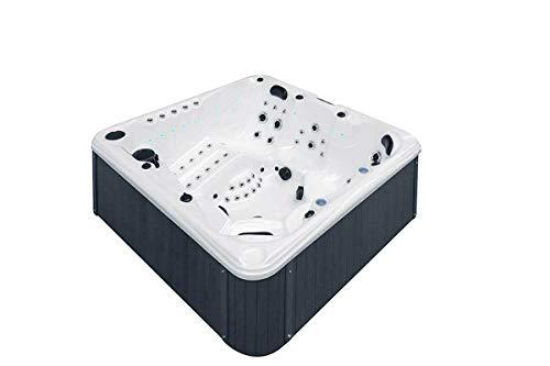 Fonteyn 6 Per Outdoor Whirlpool Indoor Aussenwhirlpool Spa Hot Tub Pool+Abdeckung+Treppe+Water Care Box