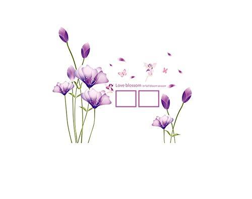 Meeoy zelfklevende muurstickers voor de keuken van het huis, zelfklevende bloemen om zelf te maken, 6 width 150 cm * hoogte 130 cm