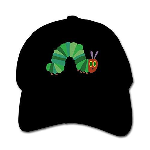 The Very Hungry Caterpillar Unisex Sports Cap Teen Hut Sunproof Kids Cap Hip-Hop Cap Verstellbare Baseball Cap Sun Hat für Kinder