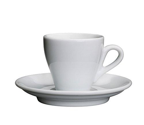 Cilio Espressotasse Milano weiß, Porzellan, 12 x 12 x 6 cm