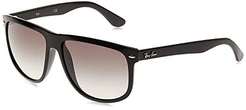 Ray-Ban - Gafas de sol Rectangulares Rb4147 para hombre, Black frame/ Grey Gradient Lens