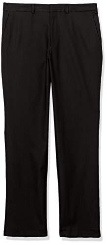 Kenneth Cole REACTION Men's Techni-Cole Stretch Slim Fit Suit Separate (Blazer, Pant, and Vest), Black, 36W x 30L