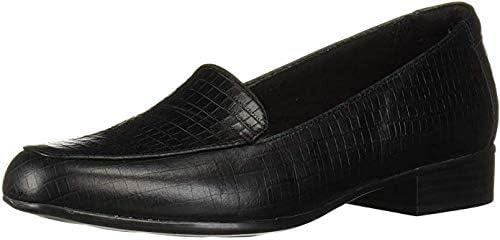 Clarks Womens Juliet Lora Black Flats Loafer Shoes 8