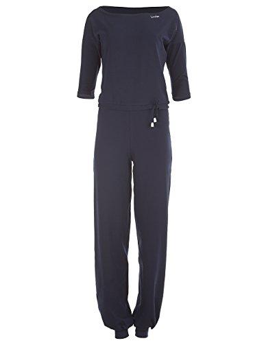 Winshape WJS2, jumpsuit voor dames, 3/4-arms, fitness, vrije tijd, sport, yoga, pilates, jumpsuit