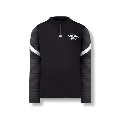 RB Leipzig Nike Youth Training - Camiseta de manga larga (21/22, para jóvenes), Negro , 10-12 Años