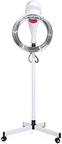 RUXMY Secador de Pelo en órbita, procesador de Color de Pelo de pie, Acelerador de Calentador, Equipo Profesional de teñido de Temperatura Ajustable para peluquería, SPA, salón de Belleza, 950 W