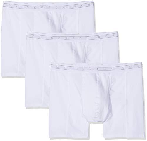 Scotch & Soda Herren underwear 3 pack Boxershorts, Mehrfarbig (Combo B 0218), Large (Herstellergröße: L) (3er Pack)