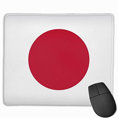 Speed Gaming Mausmatte,Tischunterlage,Office Mousepad,Laptop/Pc Mausunterlage,Goodone Japanische Flagge Lustiges Mauspad Mit Genähter Mausmatte Mit Rutschfester Kante