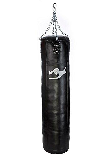 Ju-Sports Boxsack Profi Leder 150cm ungefüllt
