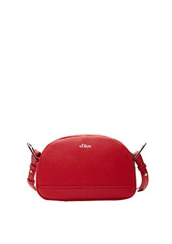 s.Oliver (Bags Damen 39.001.94.3601 Tasche Umhängetasche, red, 5x14x21.5 cm