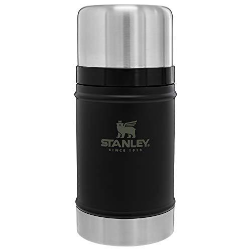 Stanley Bouteille isotherme classique à goulot large – sans BPA en acier inoxydable 18/8 pour boissons froides et chaudes – Garde les liquides chauds ou froids jusqu'à 24 heures