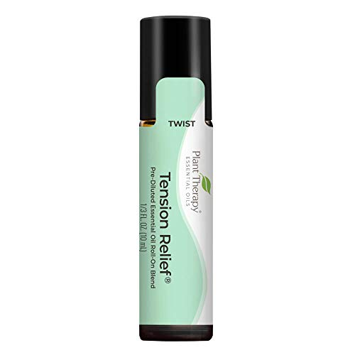Plant Therapy Tension Relief Essential Oil Blend Pre-Diluted Roll-On 10 mL...