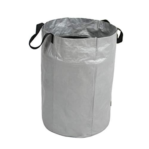 Yumira Gartensack, große Kapazität Gartenabfallsack Tragbarer Hochleistungs Müllsack Gartenblattsack Zusammenklappbarer Mülleimer für Gartenabfälle, Blätter, Rasen, Pflanzen