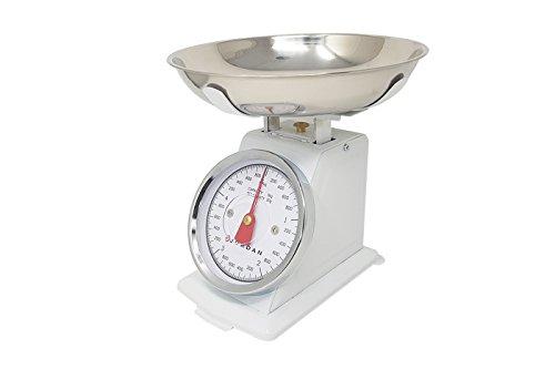 Báscula mecánica analógico de cocina Pesa Alimentos Max 5kg Jordan ks-020