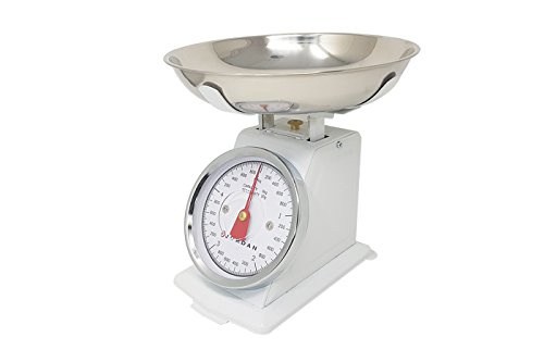 Analog Kitchen Mechanical Balance pesa 5Kg Jordan Ks-020