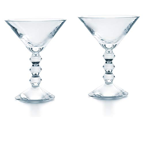 Baccarat Vega Stemware Martini Glass Set of 2 2810901