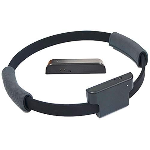 Juegos de Fitness para Interiores Juego de Ejercicios de Fitness Ring Juegos Divertidos somatosensoriales (Negro 31 * 33 * 2.5CM)