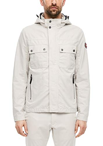 s.Oliver RED Label Herren Canvasjacke im Field-Style Cream L