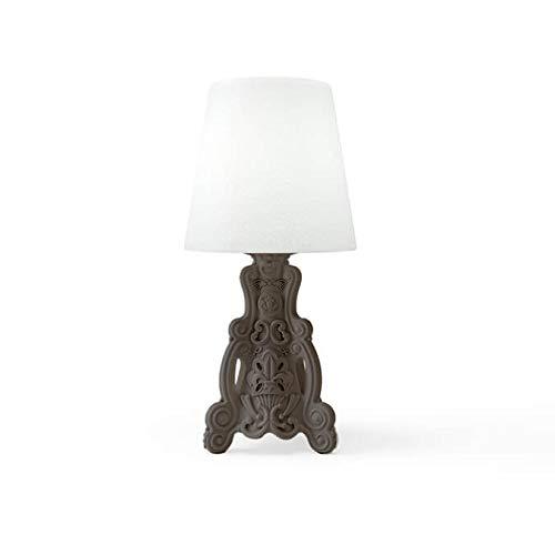 Design of Love Lady of Love Lampe de table Gris argile
