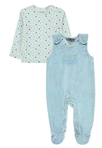 Kanz Baby - Mädchen Strampler & T-Shirt 1/1 Arm, Mehrfarbig (Allover 0003), Gr. 56