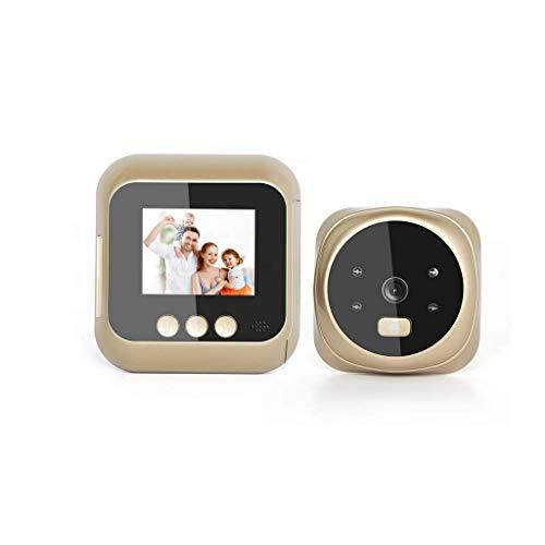 JEONSWOD Timbre inalámbrico, Video Timbre de la Puerta automática de Fotos Kit de Funcionamiento de Alta definición de Pantalla Pantalla Inicio