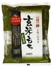 玄米もち・よもぎ〈北海道産の特別栽培米使用〉315g (7個) ※4個セット