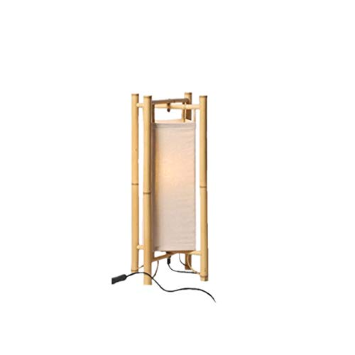 Bambus Stehlampe Vertikale Lampe Wohnzimmer Nachttischlampe Moderne E27 Innenbeleuchtung