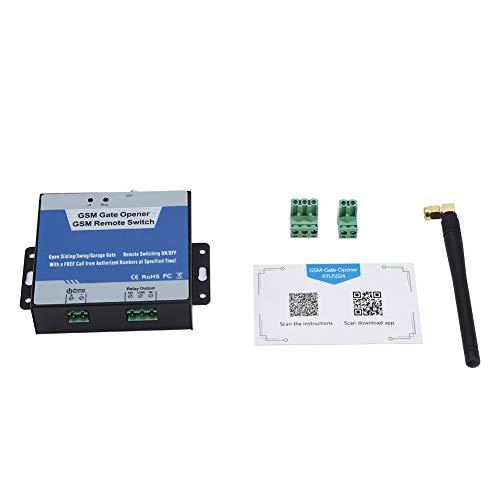 Wacent RTU5024 gsm Abridor de Puerta Control Remoto inalámbrico Interruptor de Encendido/Apagado Llamada Gratuita SMS